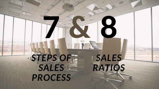 CSense- 7 sales steps and 8 sales ratios