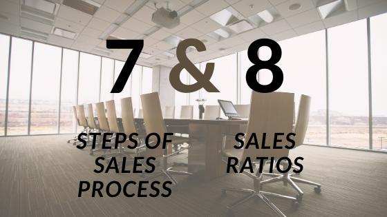 CSense- 7 sales steps and 8 sales ratios