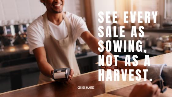 CSense - Sales is sowing