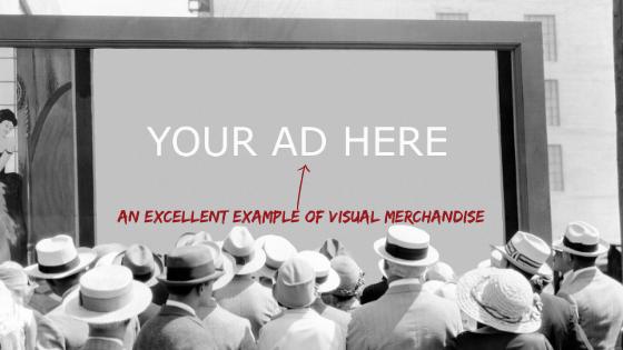 Sales - Example of Visual Merchandise