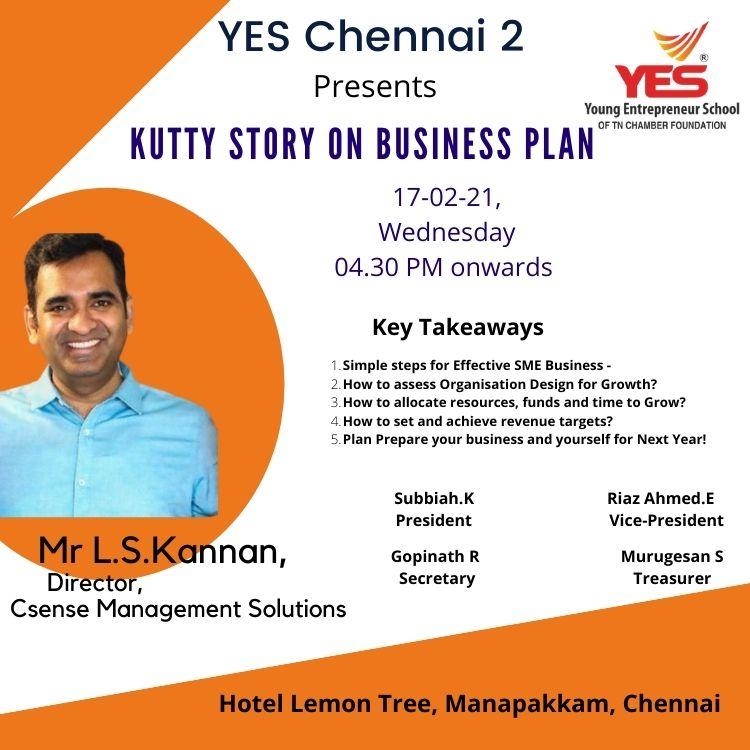 CSense Seminar on Business Plan